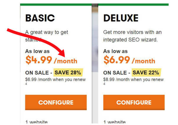 pricing-godaddy