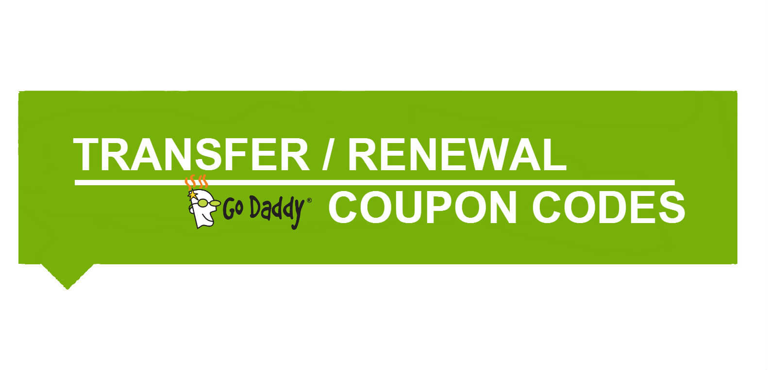 Godaddy.com coupon code