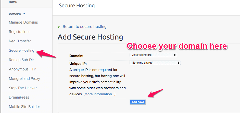 dreamhost-let-encrypt-hosting