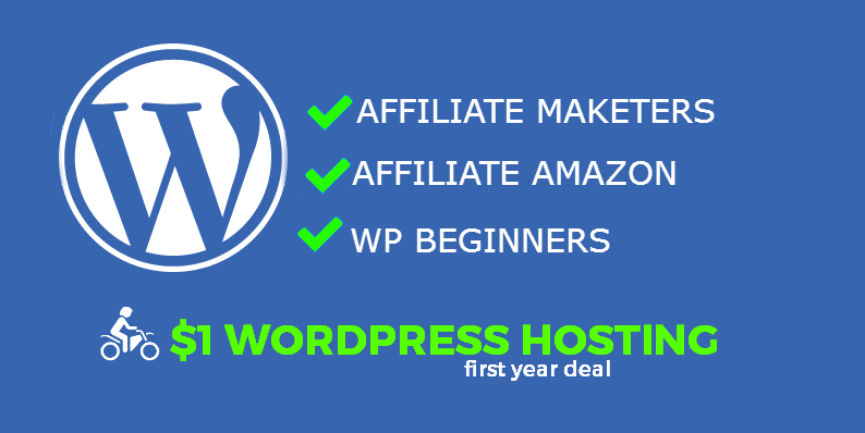 godaddy wordpress hosting $1