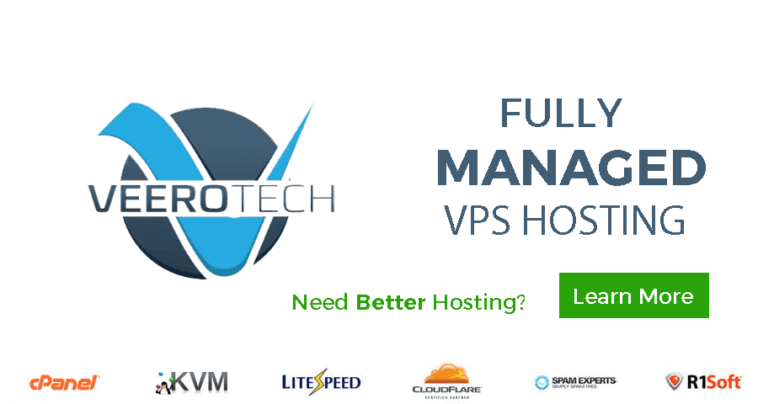 veerotech fully managed VPS coupon