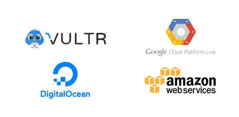 cloudways vps Google cloud platform, Amazon cloud, Vultr, Digital Ocean