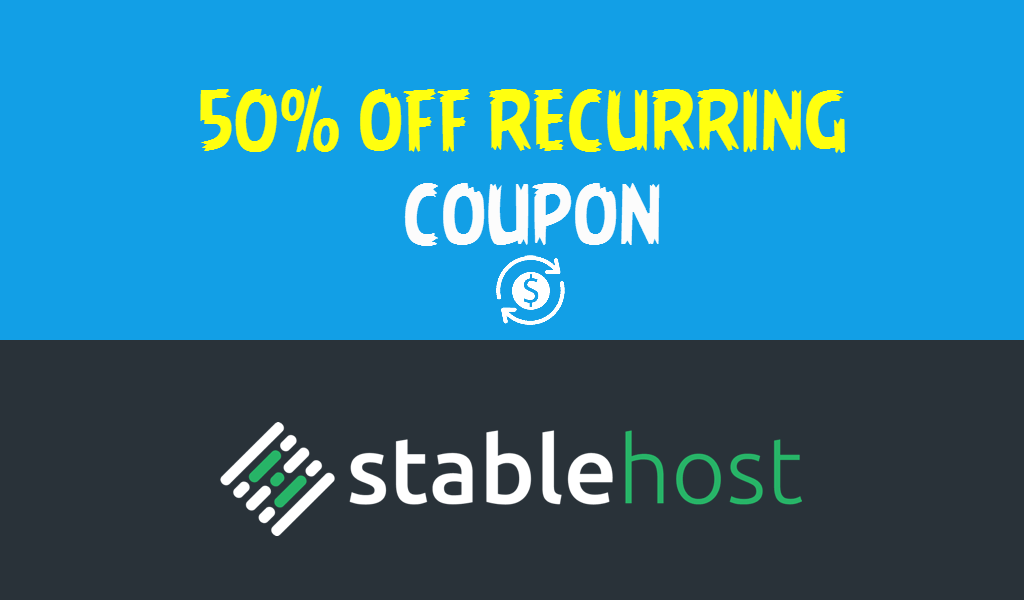 Exclusive 50 off stablehost coupon codes lifetime - Gardeners supply company coupon code ...