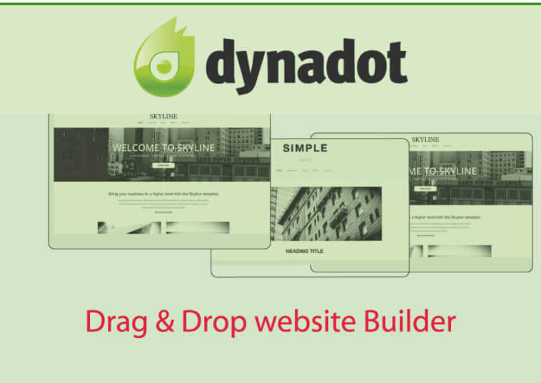 dynadot website builder