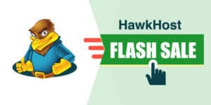 Hawkhost flash sale coupon