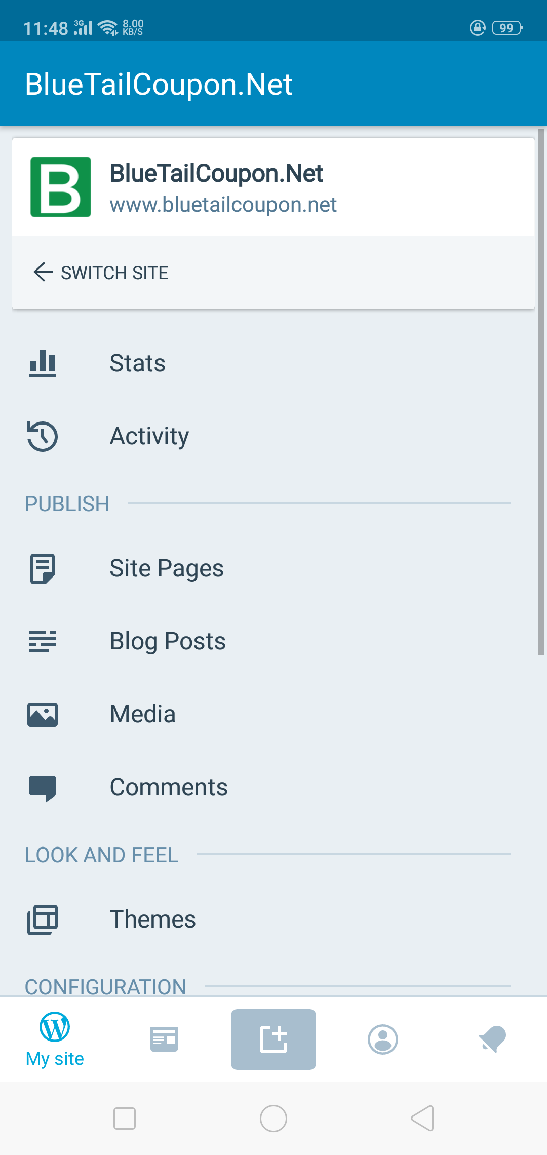 WordPress Application for Mobile