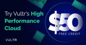 2019's August- $52+$20 Vultr credit 365 Days Free Coupon Code